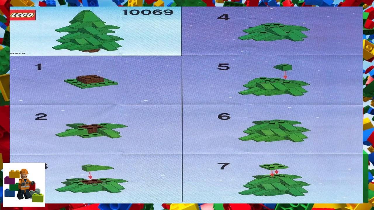 Lego Instructions Seasonal 10069 Christmas Tree Youtube