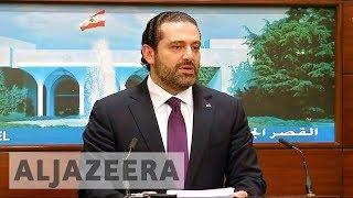 Lebanese PM Saad Hariri resigns citing Iranian meddling