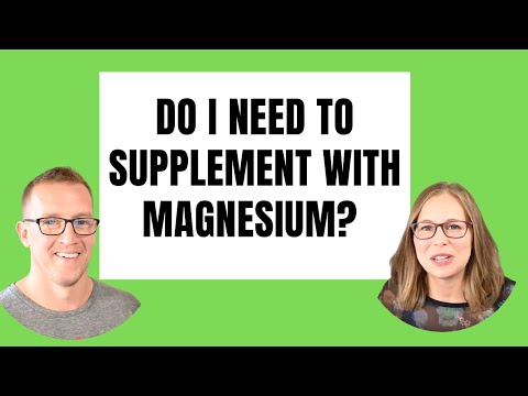 KETO TIPS | Magnesium Supplementation... Yes Or No... And How Long? | W/ Health Coach Tara & Jeremy