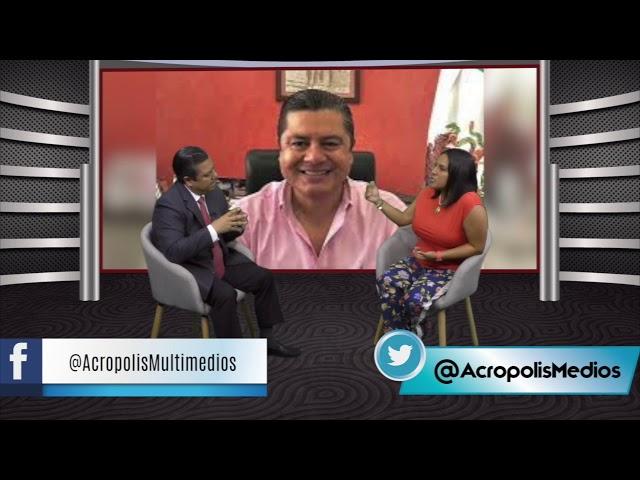 La Entrevista de Acrópolis Multimedios nos acompañó Marlon Ramírez Marín