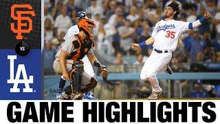 Giants vs. Dodgers Game Highlights (7/20/21) | MLB Highlights