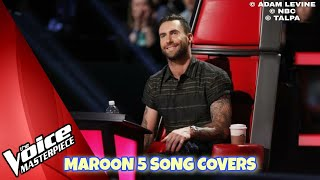 MAROON 5 Songs Cover Audition in The Voice