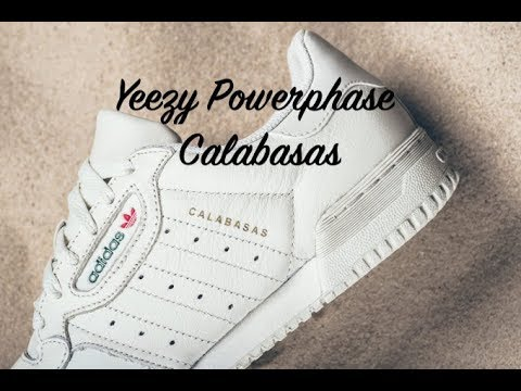d2013f7c Adidas Yeezy Powerphase Calabasas OG Unboxing and Review - YouTube