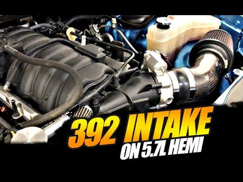 392 Intake INSTALLED on 5.7L Hemi… FINALLY!!!