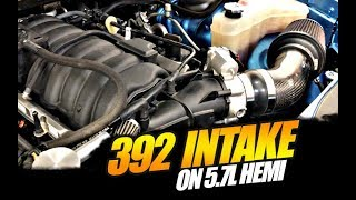 392 Intake INSTALLED on 5.7L Hemi... FINALLY!!!