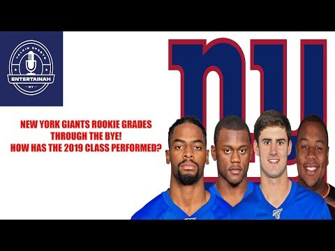 New York Giants- 2019 Draft Class Report Card Through The Bye! How Did Dave Gettleman Do?