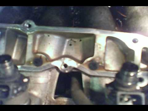 Clean EGR passages Honda Accord Civic 4 Cylinders misfire ...