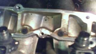 Clean EGR passages Honda Accord Civic  4 Cylinders misfire issue