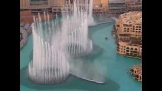 Dubai Fountain - daytime