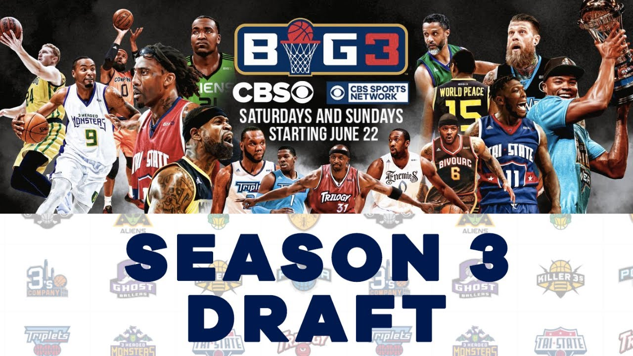 Ice Cube's Big3 League Season 3 Draft: Lamar Odom and More Former