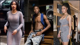 NBA Youngboy Hops Into Nicki Minaj Cardi B Beef Because His Label Atlantic Wont Release His Album