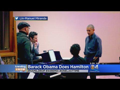 Trending: Barack Obama Does Hamilton
