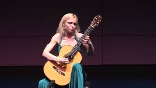 "Anna Likhacheva plays the Japanese folk song ""Sakura"" by Y.Yocoh (live concert, Mexico, FIGS 2017)"