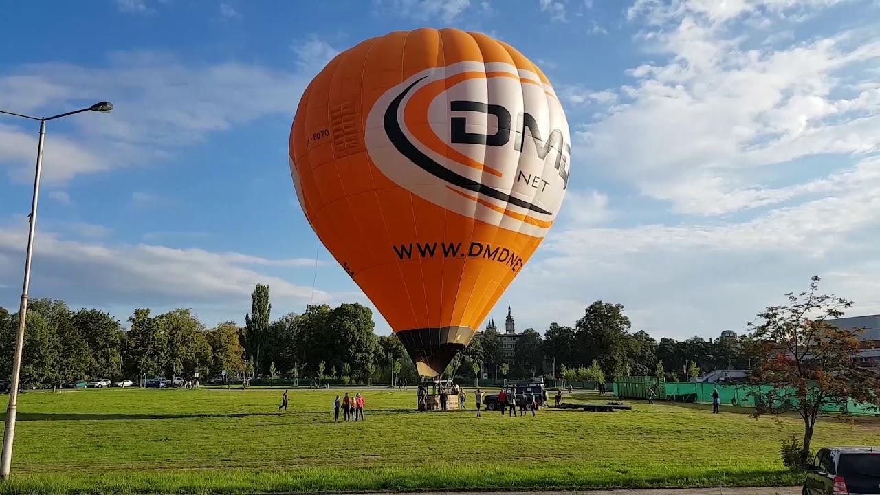 Horkovzdušný balón Hradec Králové 13. září 2019