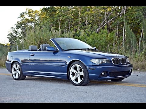 sold 2004 bmw 325ci convertible for sale in miami fl. Black Bedroom Furniture Sets. Home Design Ideas