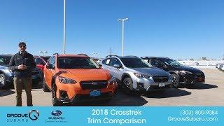2018 Subaru Crosstrek Model and Trim Comparison