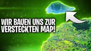 WIR BAUEN UNS ZUR VERSTECKTEN MAP! 🌎 | Fortnite: Battle Royale