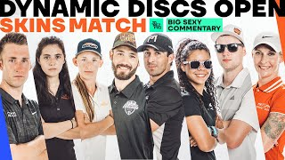 High Stakes Skins Match | 2020 Dynamic Discs Open | Big Sexy Commentary | Jomez Disc Golf
