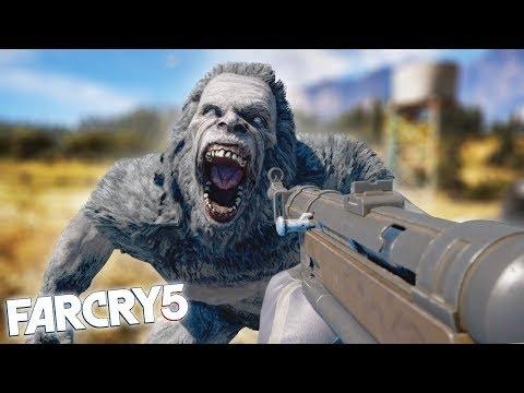 FAR CRY 5 YETI HUNT! Far Cry 5 Arcade Funny Moments & Fails!