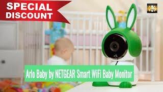 [DISCOUNT] Arlo Baby by NETGEAR Smart WiFi Baby Monitor Camera 1080P HD (B0756MFCKK)