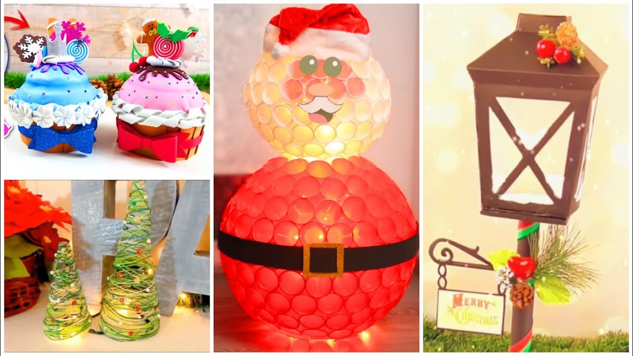 4 Fabulous Christmas Diy Crafts Youtube