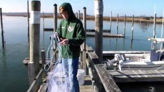 How To Consistently Throw An 8 Foot Cast Net   Perfect Method