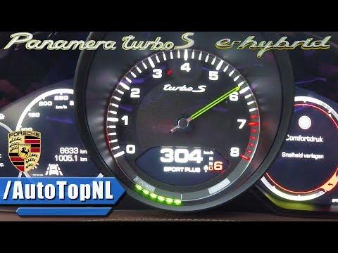 2018 Porsche Panamera Turbo S E-Hybrid ACCELERATION & LAUNCH CONTROL 0-300km/h By AutoTopNL