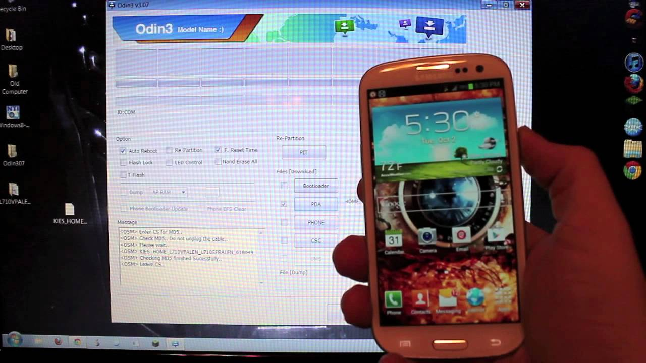 How to Recover or Restore a Bricked Samsung Galaxy S III