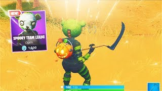 *NEW* Spooky Team Leader Skin! [Best Panda Skin] (Fortnite)