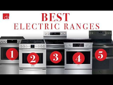 Best Electric Ranges 2020.Electric Range Top 5 Best Models Of 2019 Youtube