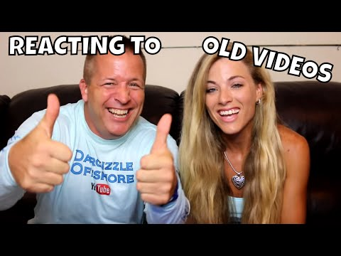 REACTING TO OLD VIDEOS!!   Darcizzle Offshore
