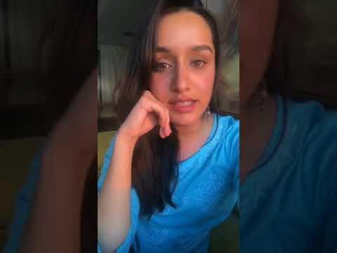 SHRADDHA KAPOOR Instagram live full video