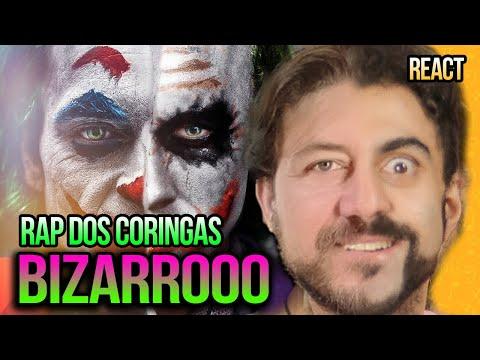 REAGINDO ao RAP DOS CORINGAS - CIRCO DOS HORRORES - @7 Minutoz  - MISSÃO MUSICAL