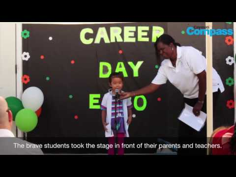 Grand cayman school 'plants seeds of inspiration' for pre-k kids at Career Day Expo