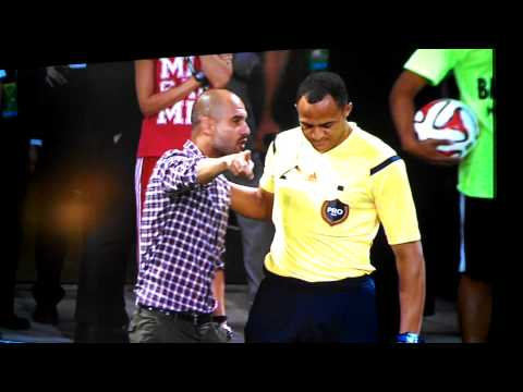 Pep Guardiola fight MLS vs Bayern