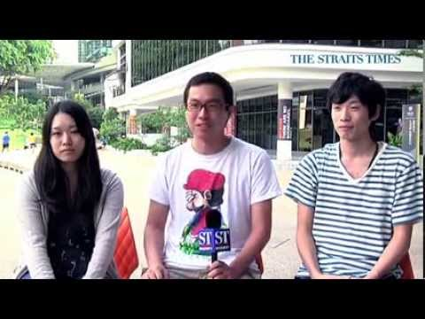 Students' video shows real Singapore