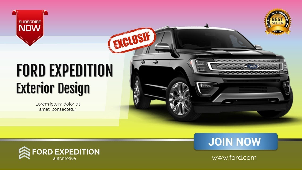 Ford Expedition Exterior Design And Dimensions