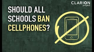 Ban Cellphones in Schools? Here's Why We Should.