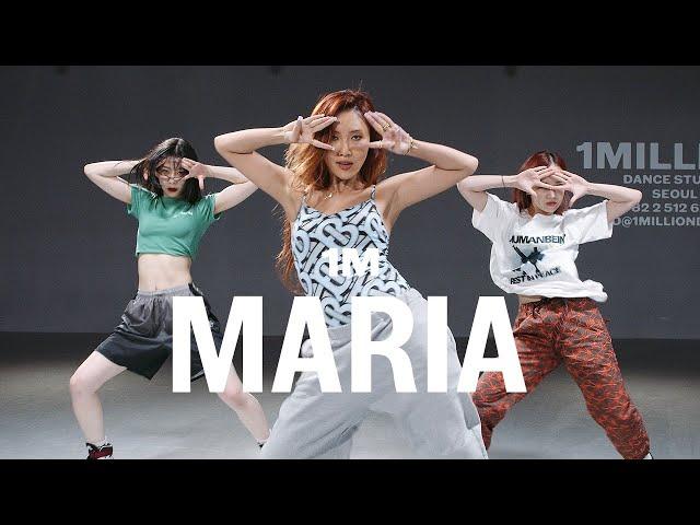 Hwasa - Maria / Lia X Tina X Yeji Choreography - 1MILLION Dance Studio