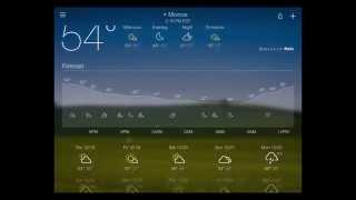 Yahoo Weather App Review screenshot 4
