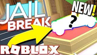 BUYING THE NEW CAR IN JAILBREAK!! (Roblox)
