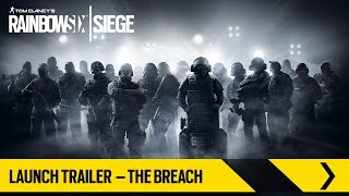 Tom Clancy's Rainbow Six Siege – Launch Trailer – The Breach [PL]
