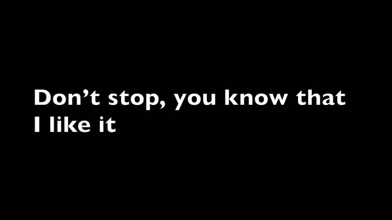 Don't Stop - 5sos (lyrics) - YouTube