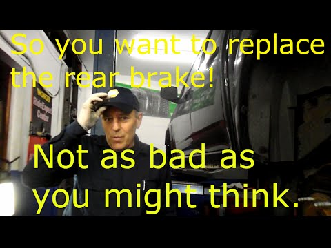 How to replace rear brake shoes on a 2005 Chevy Colorado