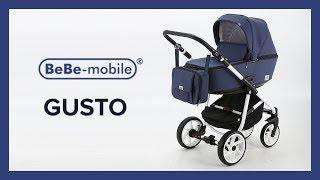 BeBe-mobile GUSTO - коляска новинка 2018. Видео обзор детской коляски 2 в 1 Беби мобиле Густо