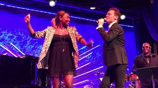 """Erich Bergen @ Sony Hall """"Ain't No Mountain High Enough"""" with Patina Miller"""