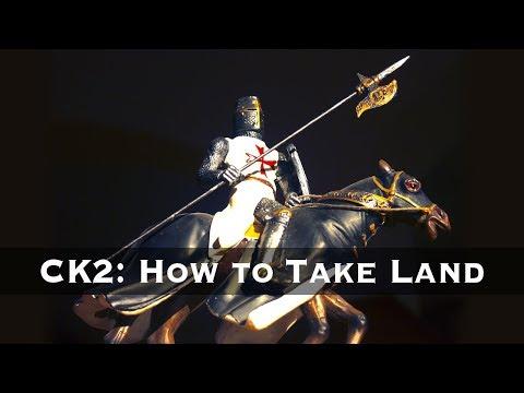 Crusader Kings 2: How to Take Land