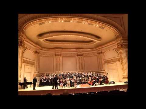 Carnegie hall performance by LCC