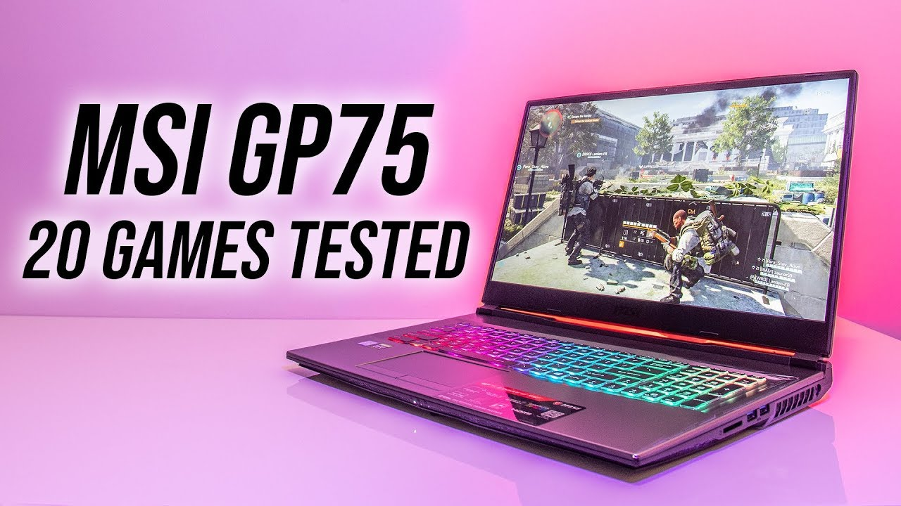 MSI GP75 Leopard 9SF Gaming Laptop Benchmarks - 20 Games Tested!