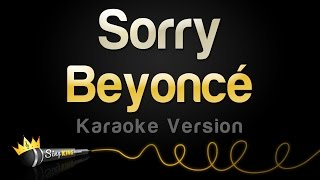 Beyoncé - sorry (karaoke version)